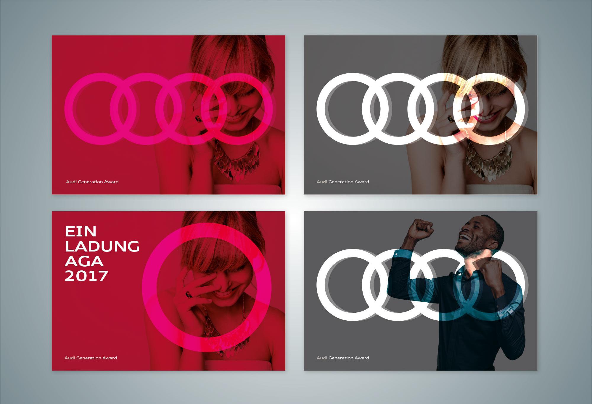 Layoutvorschlaege Redesign Audi Generation Award