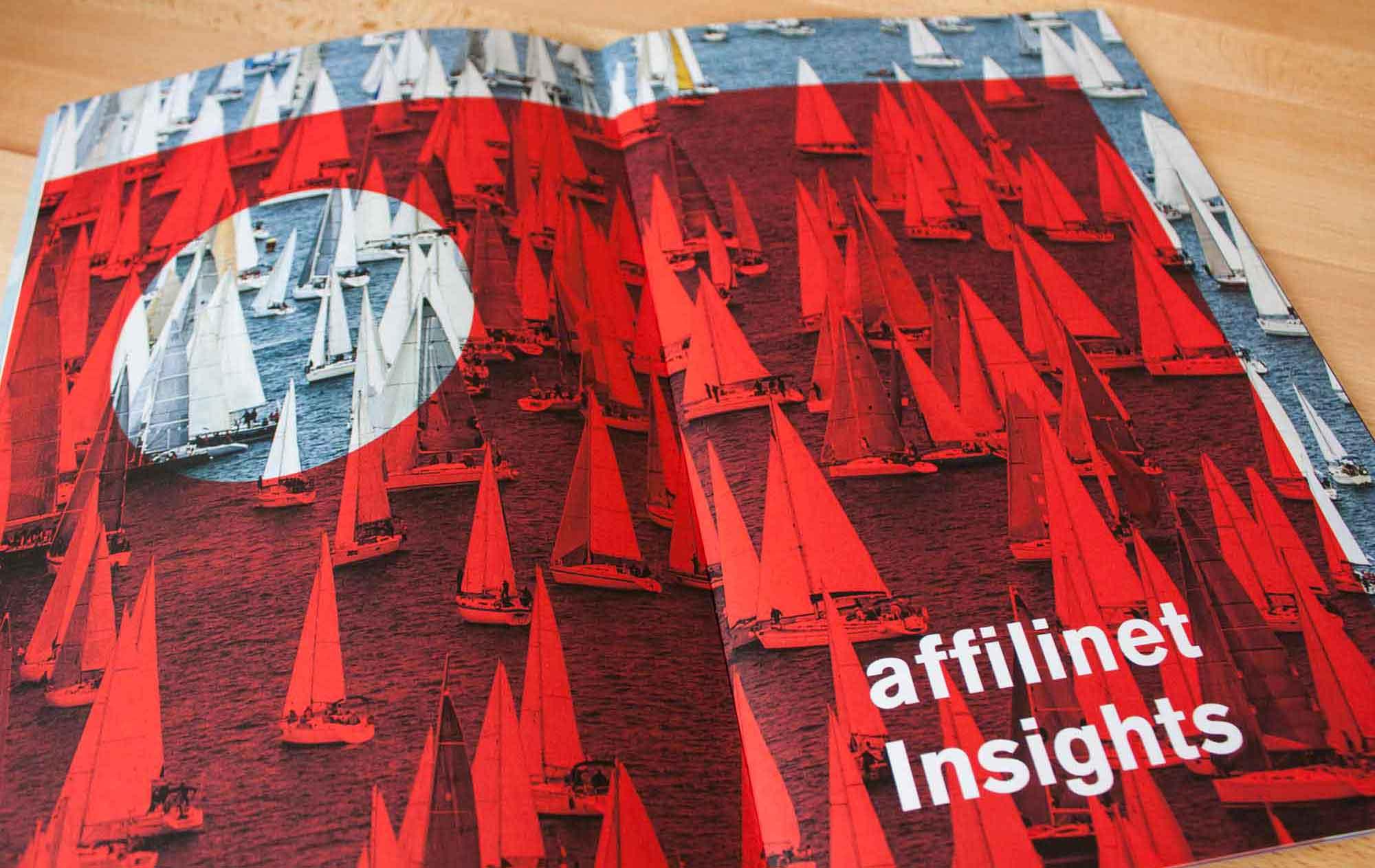 "Innenseite der Broschuere ""affilinet Mobile Navigator"""