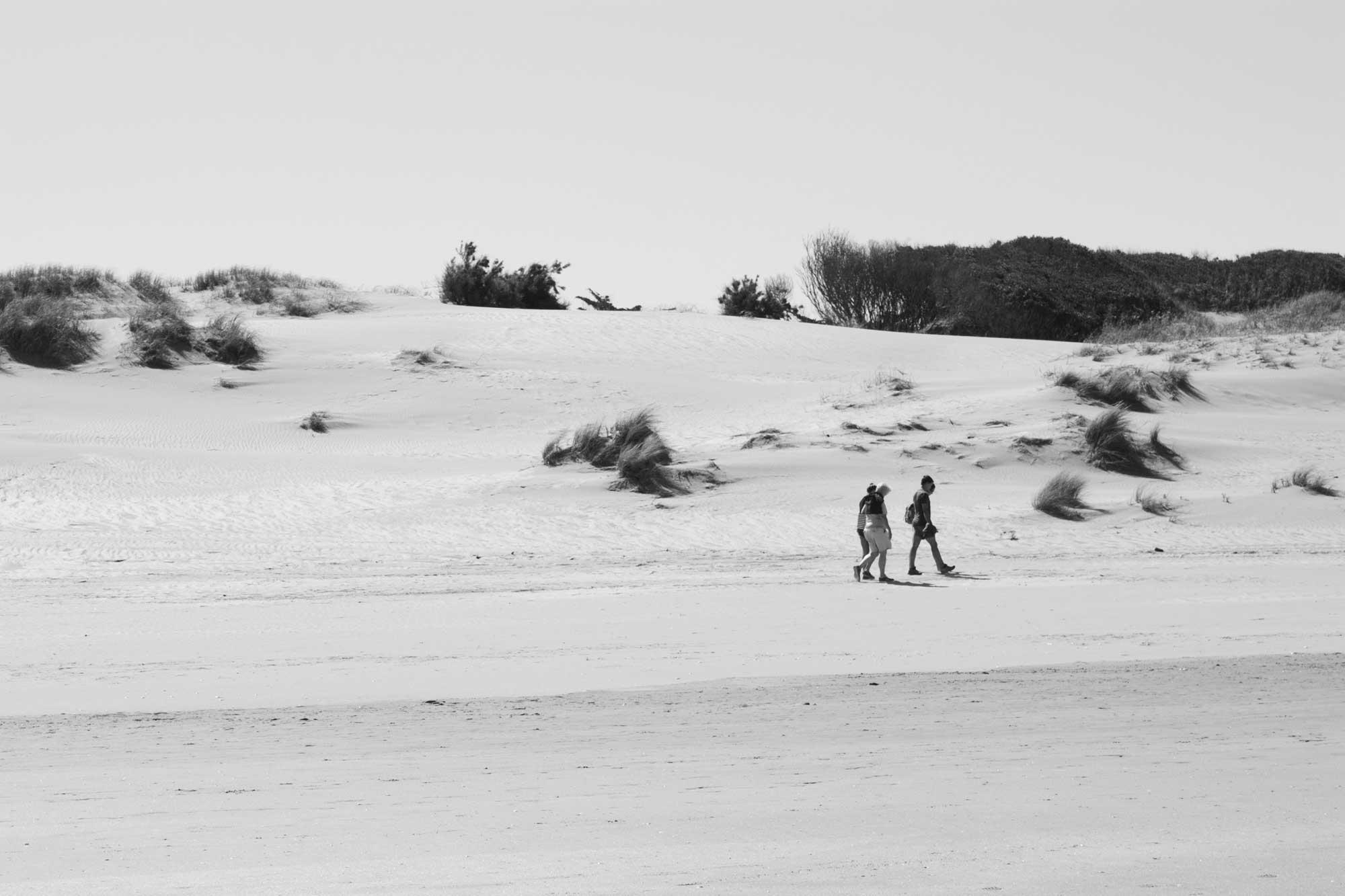 Dünen am Strand von Mar de las Pampas, Argentinien