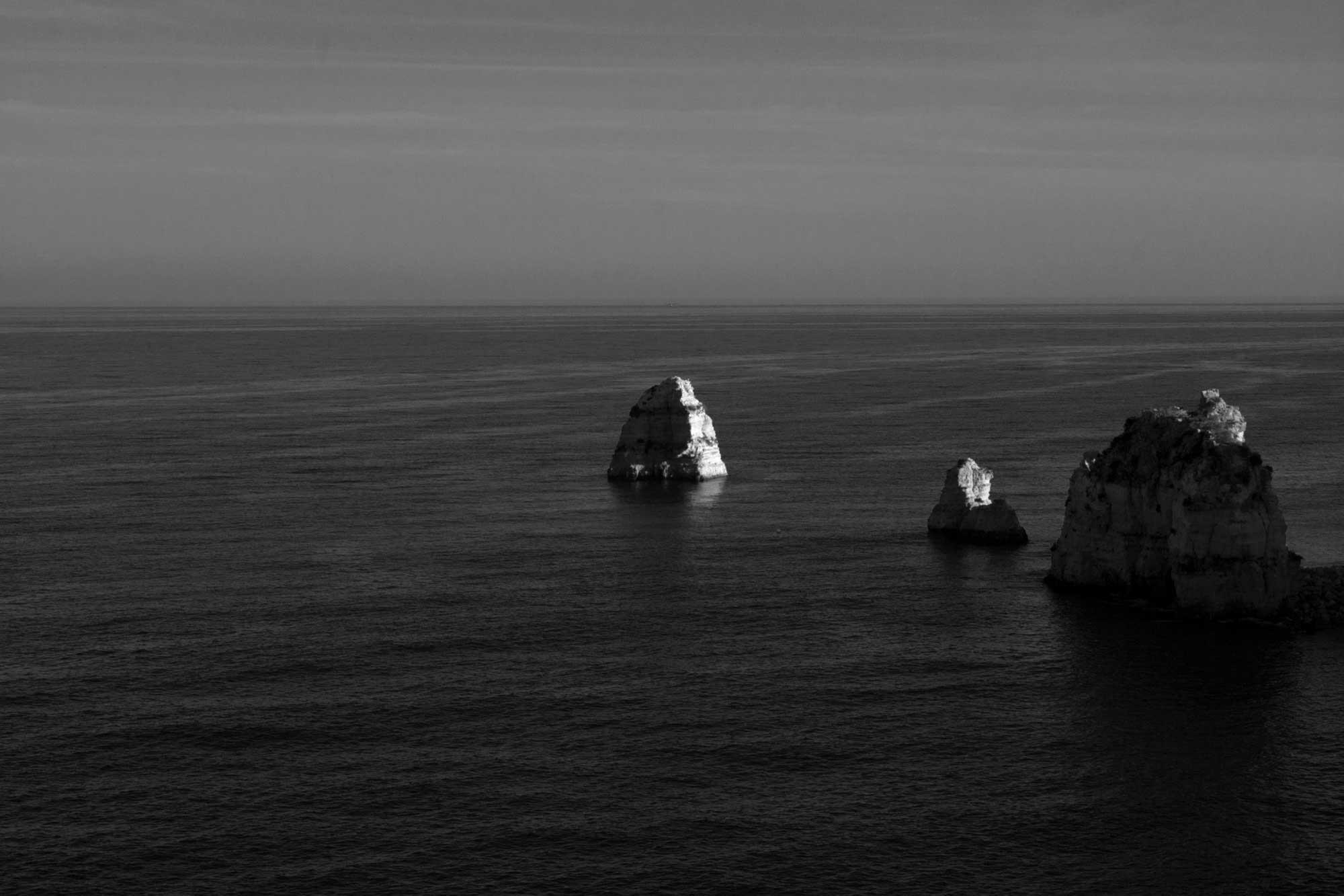 Felsen im Meer, Algarve