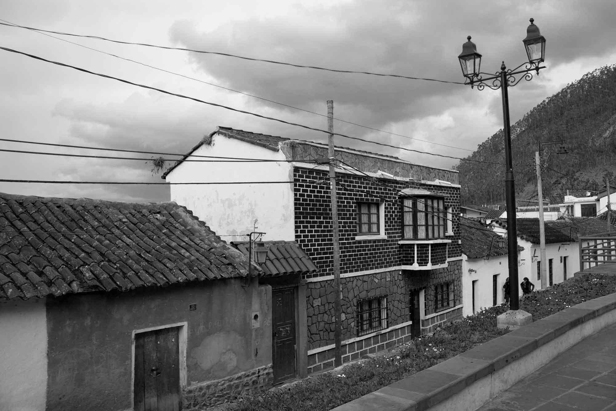 Straße in Sucre, Bolivien